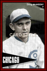 Doug Mcweeny - 1924 Chicago White Sox - Choose A Style - Colorized Print