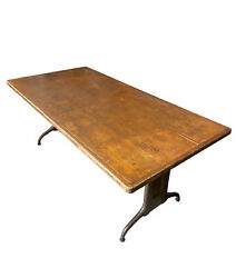 Industrial Age Work Table True Antique 1900