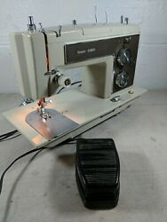 Vintage Sears Kenmore Portable Sewing Machine 158.17560 With Foot Pedal, No Case