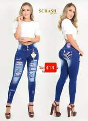 Jeans Colombianos Sc414 Authentic Colombian Push Up Jeans Jean Levanta Cola