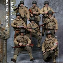 5zerotoys 1/12 Scale 6 Inch Normandy Landing Wwii Us Army Suit Set Of 8
