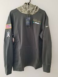 Miami Dolphins Nike 2017 Nfl Salute To Service Sideline Therma Hoodie Xl