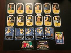 The Simpsons 2003 Trading Card Game Tcg Homer Foil Lot Of 20 Cards Wotc Rare