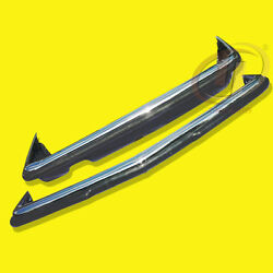 Bumpers Merc C/r/w107 1971-1989 Stainless Steel Polished S304- Better Chromed.