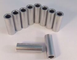 1000 Aluminum Bolt Spacers - 5/8 Od X 3/8 Id X 2 Long Made In The Usa