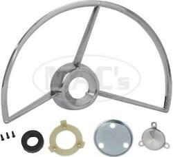 Macs Auto Parts 1961-70 Ford Pickup Horn Ring Chrome F100-f350 Deluxe Cab