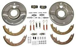 Macs Auto Parts Hydraulic Brake Front Backing Plates - Front - For 1-3/4 Drum -