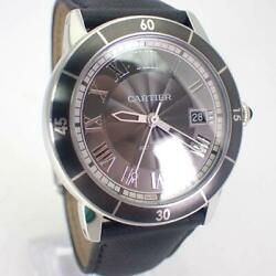 Auth Watch Ronde Croisiere Wsrn0003 Automatic Case 41mm Date F/s