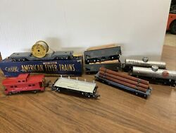 Vintage American Flyer Lines Scale Model Trains Lot Of 8 New Fast Shipping