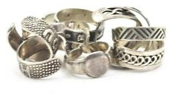 10 Different Designs, Sizes Sterling Silver Toe Rings 925 - Hearts, Stars, Love
