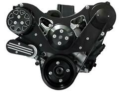 All American Billet Fds-sbf-202 Serpentine Belt Front Drive System Small Block F