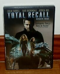 Total Recall Challenge Total - Dvd - New - Sealed - Action - Aventuras