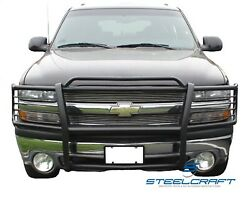 Steelcraft 50020 Grille Guard Black Powdercoat Available While Supplies Last