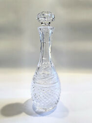 Vintage 11 Waterford Clear Crystal Liquor Decanter