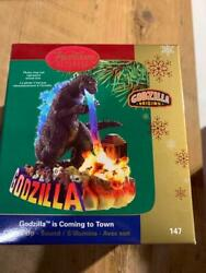 Carlton Cards Heirloom Ornament Godzilla Is Coming To Town 147 Magic Sound