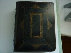 The Holy Bible. 1768 Published At Cambridge. 253 Years Old.