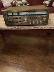 Vintage Panasonic Integrated Receiver Ra-6600 Stereo 8 Track Recorder Untested