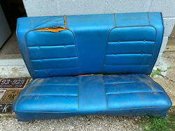 1971 1972 1973 1974 Dodge Charger Plymouth Gtx Road Runner Rear Seat