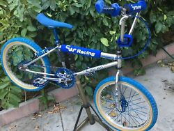 """Very Rare Old School Vintage Bmx 1981 20"""" Cw Racing Special Flat Top Tube Build"""