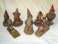Lot Of 8 Signed Tom Clark Gnomes By Cairn Studio S 38-60-61-26-31-2-83-60