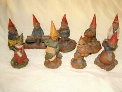 Lot Of 9 Signed Tom Clark Gnomes By Cairn Studio S 89-56-38-49-88-95-94-25-53