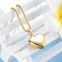 Solid Gold Simple Heart Shape Pendant With High Polished Finishing Sp35