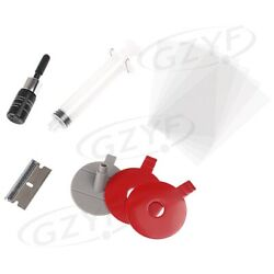 Windscreen Windshield Repair Tool Diy Wind Glass Accessory For Chip And Crack Car