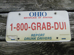 Ohio Report Drunk Drivers License Plate State Highway Patrol Grab Dui Oh
