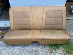 1968 1969 1970 Dodge Charger Coronet Plymouth Roadrunner Gtx Rear Seat R/t