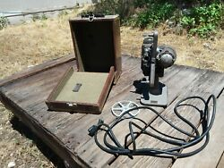 Vintage Revere Eight Projector Model 85 Old Electronics Film Antique Machinery