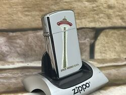 Zippo 1976 Space Needle Vintage Lighter Still New And Unfired Ultra Rare