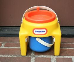 Extremely Rare Vintage Little Tikes Sand Spinner Sifter And Bucket / Pail Play Set