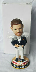 Fort Wayne Mad Ants Limited Edition Promo Coach Gansey Bobblehead In Box Pacers