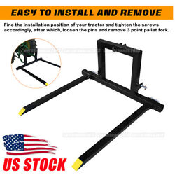3 Point Tractor Pallet Forks Hitch Forks Tractor Mover Attachments Category 1 Us