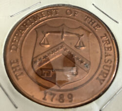 1789 Department Of Treasury United States Mint Denver Coin
