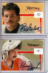 2005-06 Between The Pipes Autographs Arh Ron Hextall