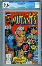 New Mutants 87 Cgc 9.6 // 1st Cable // Comic Book // 1990 // 1480429001