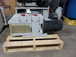 Leybold Trivac D65bcs Tested Works Great. Pfpe Fluid