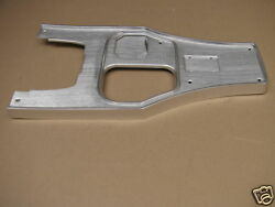 1963 Corvette Pw Power Window New Exact Shifter Console Plate 4-speed Auto