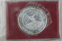 Vintage Nasa Dfrf Four Countries Working Together 1 Ounce .999 Silver Round