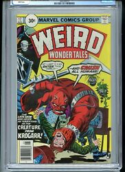 Weird Wonder Tales 17 Cgc 9.4 White Pages Scarce 30 Cent Variant