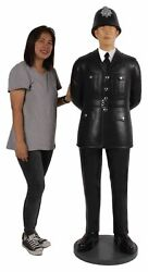British Police Officer Statue Life Size 6ft