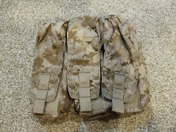 Eagle Industries Aor1 Dig2 Mike4 7.62 Triple Mag Pouch - Devgru Seal Nsw Sof
