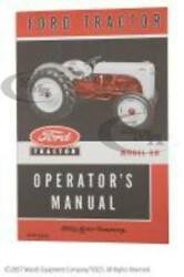 New 8n Ford Tractor Owner Operators Manual 🌎