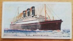 Belgenland Red Star Issued By Wills's Cigarettes. C1924.