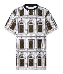 New Authentic Louis Vuitton Fornasetti Collection Architecture T-shirt Size Lo