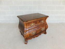 Henredon Villandry Collection French Bombe Style Nightstand A