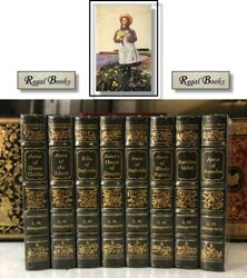 Anne Of Green Gables Series - Easton Press - L M Montgomery - Sealed W/ Box