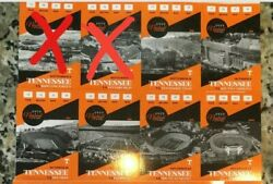 Four 4 Tennessee Volunteer Football Partial Season Tickets - Section Q