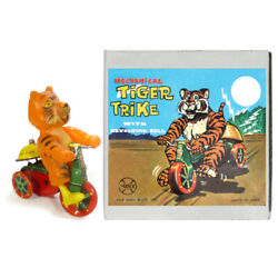 1962 Esso Tiger Tricycle Wind Up Toy Trike By Marx Toys Cool
